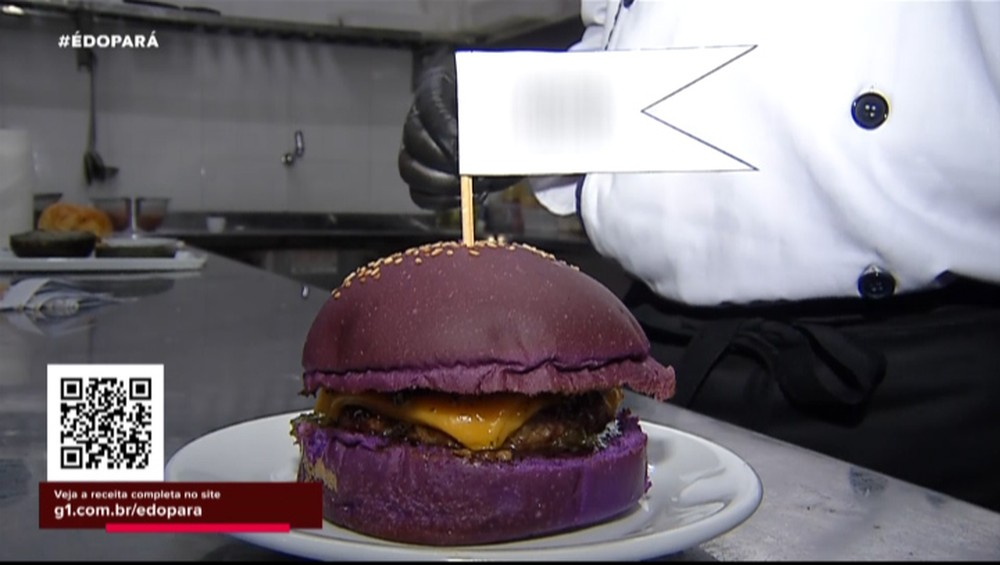 Hambúrguer de Jambu